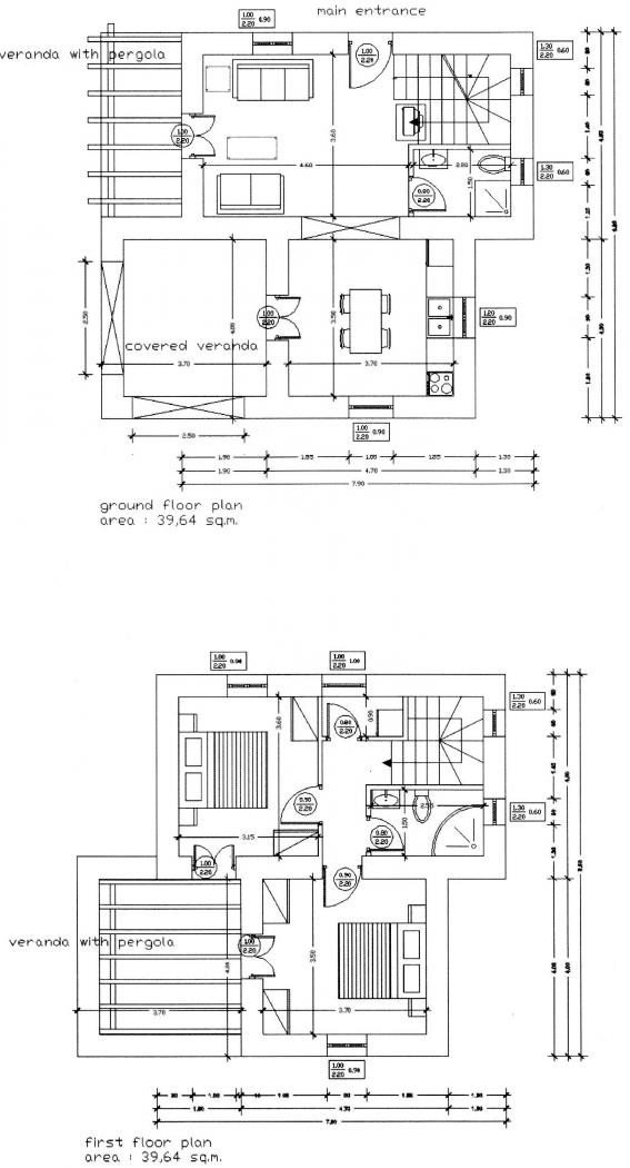 Antheia - Floor Plans