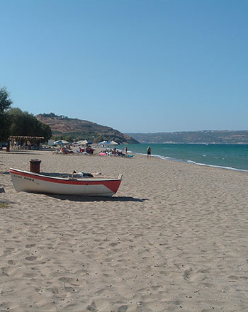 Beach near Kalives