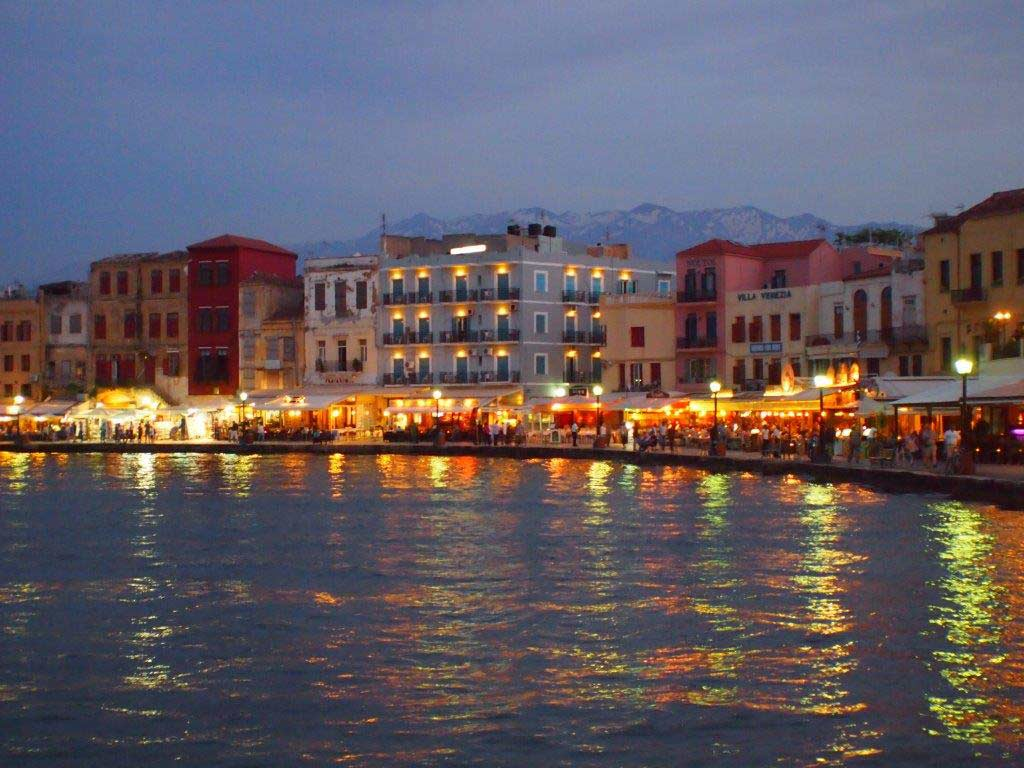 Chania at night 1